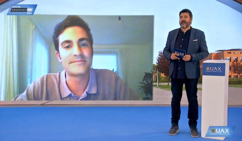 Carlos Roldán alumni UAX