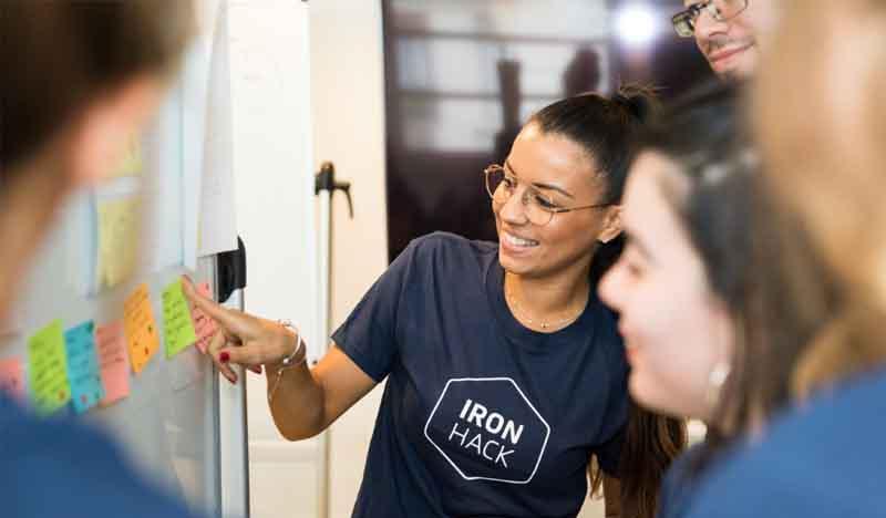 bootcamps de ironhacks incluidos en los grados de ingenierias de uax