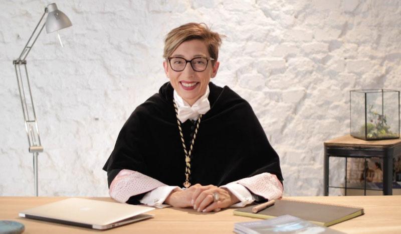 Isabel Fernández rectora UAX