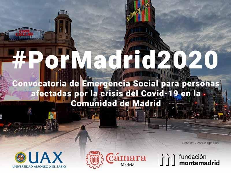 foto convocatoria por madrid 2020