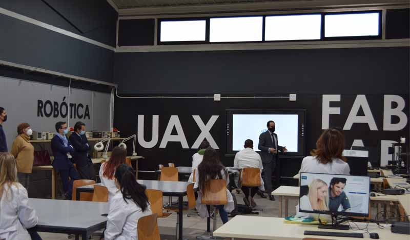 conferencia customimplants inauguracion fab lab uax